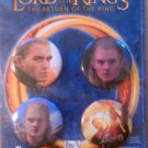 The Lord of the Rings Return of the King Legolas 4 Button Set NEW SEALED