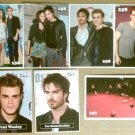 258 West The Vampire Diaries Cast Trading Cards Promo Lot