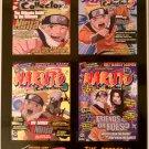 Shonen Jump Naruto Collector Promo Sticker Sheet