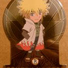 Shonen Jump Naruto Ninja Ranks Fourth Hokage Super Deformed Die Cut Foil Card SD5