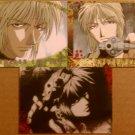 3 Sanzo - Gensomaden Saiyuki Reload Cards (Kazuya Minekura)