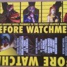 DC Comics The Watchmen - Before Watchmen Bookmark