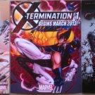 Marvel Comics X-Men & Spider-Man Promo Flyers set of 3