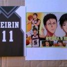 Kuroko's Basketball Hyuga & Iduki Clear Plate Shitajiki / Pencil Board