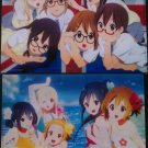 K-ON! Double-sided Clear File # 4
