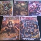 Cyber Force Vol. 4  Set of 5 #1 - 5