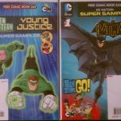 Free Comic Book Day 2012 & 2013 DC Nation Super Samplers