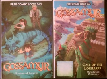 Free Comic Book Day 2012 & 2013 Finding Gossamyr/The Stuff of Legend Flip Books