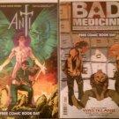 FCBD 2012 Anti/The Ride Flip Comic & FCBD 2012 Bad Medicine