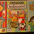FCBD '12 Yo Gabba Gabba!, FCBD '13 KaBoom!, FCBD '13 Rated Free For Everyone!