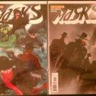 Masks # 1B Jae Lee & 1C Adrian Syaf Cover (Green Hornet & Kato, The Shadow, The Spider, Zorro)