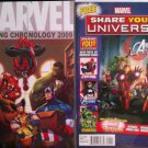 Marvel Reading Chronology 2009 & Marvel: Share Your Universe Sampler # 1