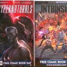 Free Comic Book Day 2012 The Hypernaturals & FCBD 2012 The Intrinsic