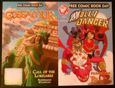 FCBD '13 Finding Gossamyr/Stuff of Legend Flip-Comic & Molly Danger/Princeless Flip