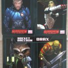 NYCC 2013 Marvel Guardians Of The Galaxy Trading Cards Set of 4