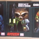 NYCC 2013 Marvel Guardians Of The Galaxy Trading Cards Set of 3