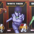 NYCC 2013 Marvel Mighty Avengers Trading Cards Set of 3