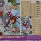 Brothers Conflict Promo 3-Month Mini Desk Calendar (Sept., Oct., Nov. 2013)