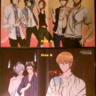 K Project / Brothers Conflict Double-sided Pinup