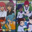 Inazuma Eleven / Danball Senki Wars Double-sided Pin-up