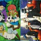 Inazuma Eleven GO! Chrono Stone / La Storia della Arcana Famiglia Double sided Pin-up
