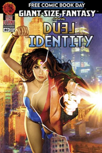 Free Comic Book Day 2014 Giant-Sized Fantasy Flip-Book featuring Dual Identity / Pandora�s Blog