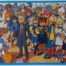 Inazuma Eleven Go! Postcard # 01