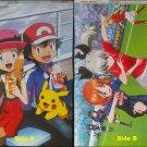 Pokemon XY / Girls und Panzer Double-sided Poster / Pin-up