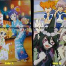 Aikatsu!/ Inazuma Eleven Go! Galaxy Double-sided Poster / Pin-up
