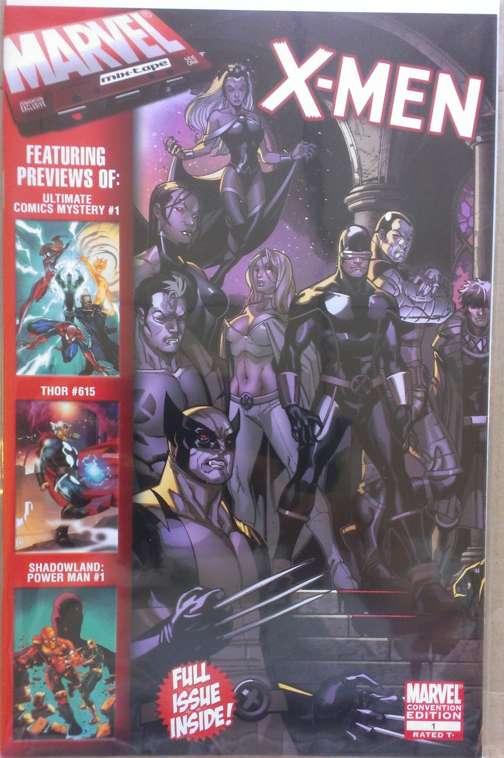 Marvel Mix-Tape: FanExpo Canada (FEC) 2010 # 1 Convention Edition (X-Men # 1 cover)