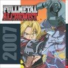 Fullmetal Alchemist 2007 Wall Calendar NEW SEALED