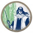 Bleach Byakuya Kuchiki Round Iron on Patch (NEW)