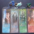 Lord of the Rings Large Bookmark Set of 4