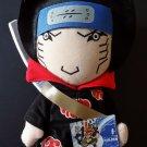 "Naruto Shippuden Akatsuki Kisame 12"" Plush new with tags"