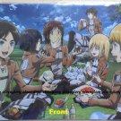 Attack on Titan Shingeki no Kyojin Group Picnic Clear File Folder