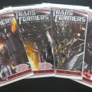 Transformers Dark of the Moon # 1 - 4 Movie Adaptation Complete Set (IDW, 2011)