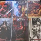 Xena: Warrior Princess Vol. 2: Dark Xena  # 1-4 Complete series in 6 Comic Set (Dynamite, 2007)