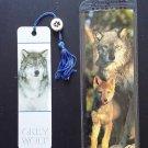 Wolf Bookmark Set