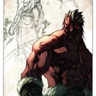 Marvel Inhuman Lash Lithograph / Print by Joe Madureira (2014)