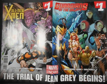 The Trial Of Jean Grey / Inhumanity #2 Double Sided Promo Poster
