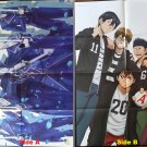 K Project Missing Kings / Ace of Diamonds Large Double-sided Folded Poster / Pin-up