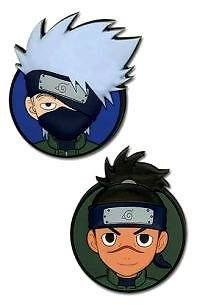 Naruto Shippuden Kakashi & Iruka Pin Set
