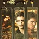 Twilight Saga New Moon Large Beaded Bookmark Set of 3 (Edward, Bella, Jacob)