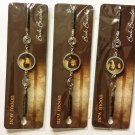 Twilight Saga New Moon Bracelet Bookmark Set of 3 (Edward, Bella, Jacob)