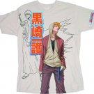 Bleach Ichigo Kurosaki Mens Tan T-Shirt Large NWT