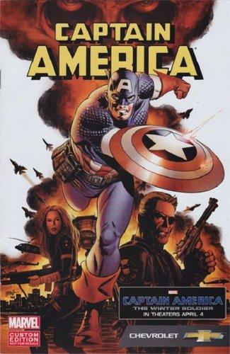 Marvel / Chevrolet Captain America: The Winter Soldier # 8 Custom Edition Comic Sealed