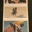 NYCC 2014 Star Wars: The Adventures of Luke Skywalker, Jedi Knight Postcard Promo Set