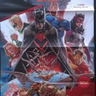 Earth 2 World's End DC Comics Large Promo Folded Poster / Pin-up