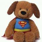 "GUND DC Comics Superman Griffin 12"" Puppy Dog Plush New w/Tag"