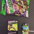Teenage Mutant Ninja Turtles New Animated Adv Leonardo Keychain & 3D Puzzle Card